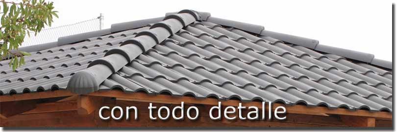 Tejas ligeras de pl stico para tejados y cubiertas con poco peso - Clases de tejas para tejados ...